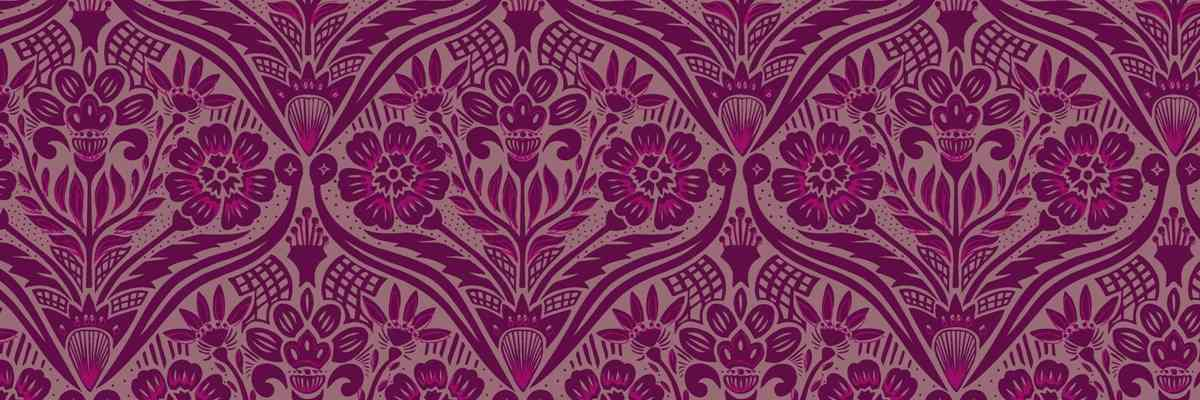 Edwardian Wallpaper | Chameleon Collection