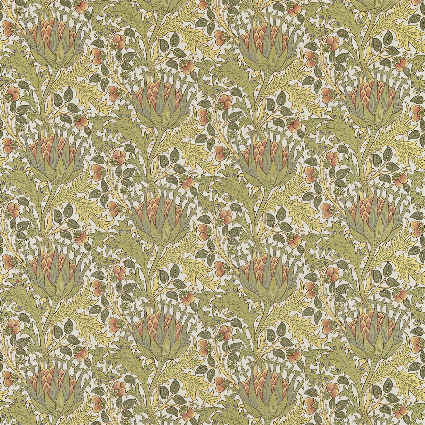 arts and crafts wallpaper chameleon collection