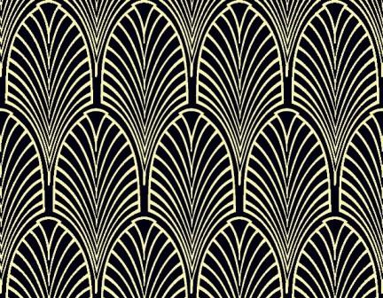 Art Deco Wallpaper Chameleon Collection
