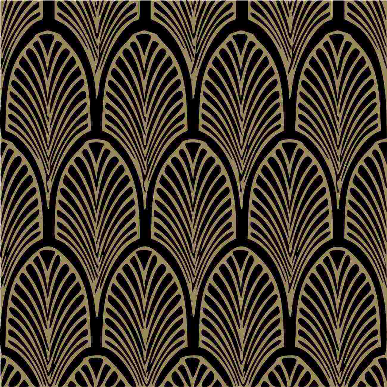 Gold Art Deco Wallpaper Uk Art Deco Black And Gold Wallpaper