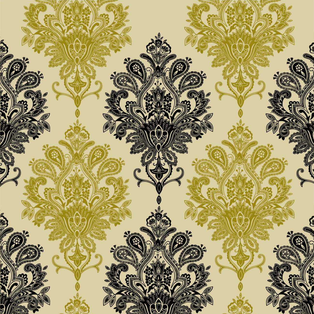 some alternative colours - Contemporary Damask Wallpaper