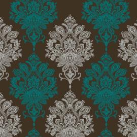 damask wallpaper contemporary damask available in any colour - Contemporary Damask Wallpaper