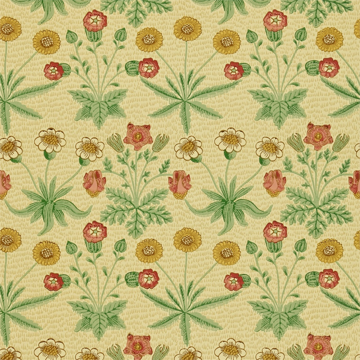 Daisy Bars & Pubs Floral Traditional Arts & Crafts Victorian William ...
