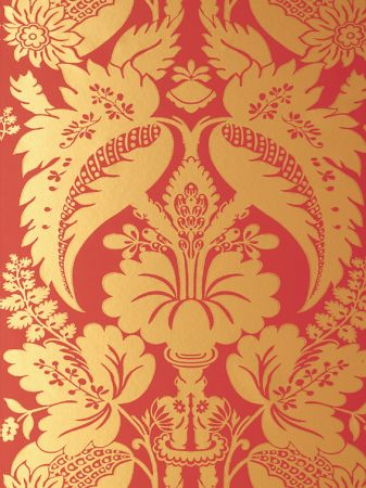 Metalic Damask