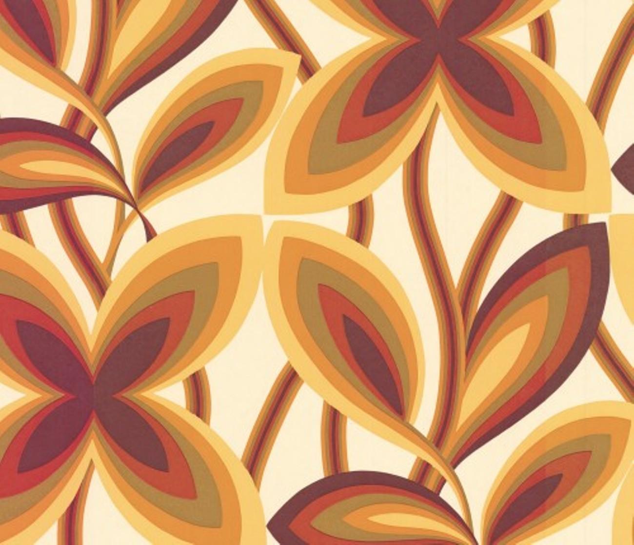 60s wallpaper 70s wallpaper  Chameleon Collection
